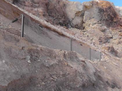 Barreras contra caída de rocas