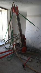 Recalzado de fundaciones condominio Lo Barnechea