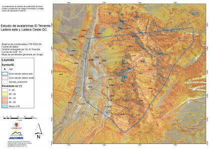 Estudio de avalanchas y caída de rocas Codelco Div Teniente
