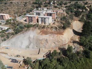 Fortificación de taludes proyecto Alto Horizonte